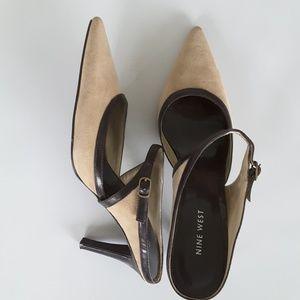 Nine West size 8.5 pointed toe heels